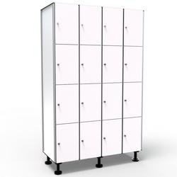 Phenolic Locker, 4 Doors 4 Modules