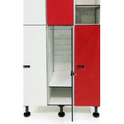 Extra shelf for lockers